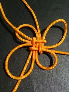 Fabriquer une variante du noeud carré - nico-matelotage