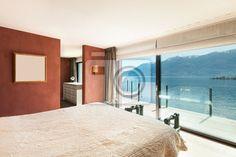 Schlafzimmer fototapeten größe der wand • red, schwarz, moderne | myloview.de