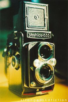 photo StrangerandFiction ETSY.. i really want an old camera.. badly