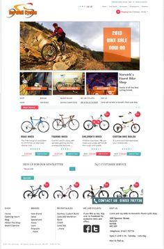 #cycles #bikes #sport #web-design