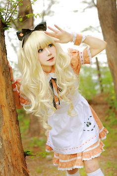 cosplay Vocaloid ~ SeeU 1, 2, 3, 4.