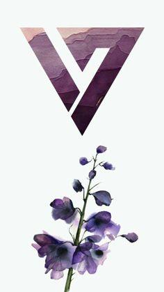 SEVENTEEN LoGo theme Purple