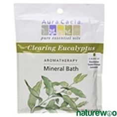 Aura Cacia Clearing Eucalpytus Mineral Bath combines the clearing, warming and energizing effects of eucalyptus with the spa-like experience of our Mineral Baths. Fine-textured salts, pure essential oils and other mineral-based ingredient Eucalyptus Oil, Eucalyptus Essential Oil, Mineral Bath, Are Essential Oils Safe, Home Spa Treatments, Sodium Bicarbonate, Orange Oil, Harvest, The Cure