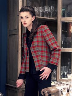 Plaid jacket. Photography by Lukasz Dunikowski. Licensed to pin though creativecommons.org/licenses/by/2.0/deed.en_GBr