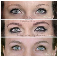 Best Microblading Hairstroke Eyebrows permanent makeup and cosmetic tatoo in Kansas City, Overland Park, Leawood, Prairie Village, Lee's Summit. Mom Haircuts, Prairie Village, Permanent Makeup Eyebrows, Overland Park, Microblading Eyebrows, Hair Cuts, Cosmetics, Diy Projects, Image