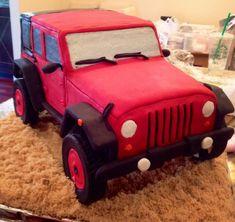 My latest cake.Jeep Wrangler chocolate w/chocolate buttercream! Birthday Ideas, Birthday Cake, Birthday Parties, Bon Voyage Cake, Jeep Cake, Cupcake Cookies, Cupcakes, Best Jeep Wrangler, Kid Birthdays
