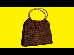 "Borsa all'uncinetto cordino thai & punto peruviano - crochet bag ""Broomstick stitch "" - YouTube Macrame Bag, Crochet Handbags, Crochet Projects, Lana, Crochet Top, Stitch, Purses, Knitting, Women"
