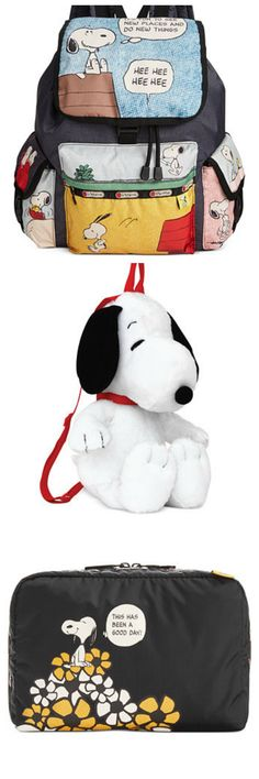 Snoopy is back at Macy's as the 2015 Holiday Ambassador! Get accessorized with Snoopy backpacks for kids and bags from LeSportsac. Shop at Macy's via CollectPeanuts.com for everything on your Peanuts Christmas gift list and support our site. Thank you!