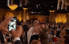 And then they got photobombed by Benedict Cumberbatch. | The 22 Most Important Things That Happened At The Golden Globes