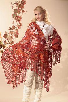 irish crochet lace by Miroslava Gorokhovich