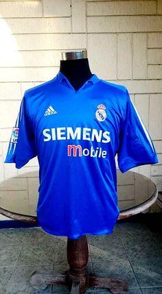CLASSIC FOOTBALL JERSEY CENTER. Real Madrid KitJersey AdidasVintage ... 090111cbc