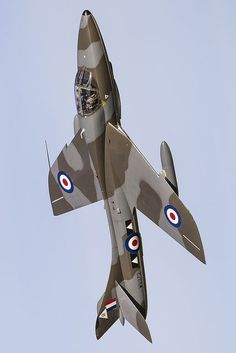 Hawker Hunter Air Force Aircraft, Fighter Aircraft, Fighter Jets, Bomber Plane, Jet Plane, Military Jets, Military Aircraft, Reactor, British Armed Forces