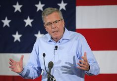 Former Florida Governor and probably 2016 Republican presidential candidate Jeb Bush speaks at the First in the Nation Republican Leadership Conference in Nashua, New Hampshire April 17, 201by 5. Photo Brian Snyder/Reuters