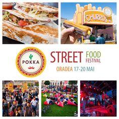 #Oradea bine te-am regăsit!  E vreme bună mâncare delicioasă muzică şi relaxare la Street Food Festival ......       ........ hai să ne bucurăm împreună! P.S.  Nu uita să încerci noul #churros umplut cu sos de #vanilie / #ciocolată.  #StreetFoodFestival #POKKA #goodfood #music #goodmood #roadtrip #festival #haisitu
