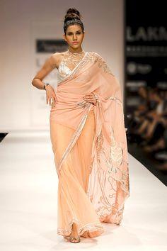 Shop online at http://www.satyapaul.com/satyapaul/shop/bridal-wear/bridal-sarees/esw1782 and visit us at http://www.facebook.com/SatyaPaulIndia