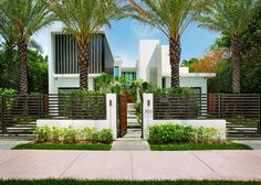 Entrance to Modern Venetian Isle Home | HGTV