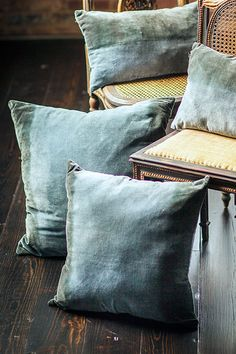 Mothology.com - Velvet Pillow Cover - Square, $39.00 (http://www.mothology.com/velvet-pillow-cover-square/)