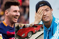 Has Lionel Messi outbid Cristiano Ronaldo for the world's most expensive car?