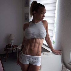 Nice abs 😍💪 #fitness #fitnesswomen #fitgirls #bootybuilding #gymlife #fitpro #fitfam #fitandhealthy #bootytime #booty #picoftheday #sexy #girlswholift #girlswithmuscles #motivation #fatloss #inspiration #inspire #instagood #fitnessfreak #befit #getfit #fitchicks #workout #followme #follow4follow #like4like #hardbody