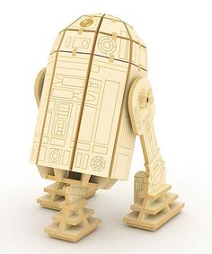 Look at this Star Wars R2-D2 3-D Wood Model Kit on #zulily today!