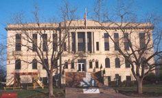 Burleson County courthouse, Caldwell Texas