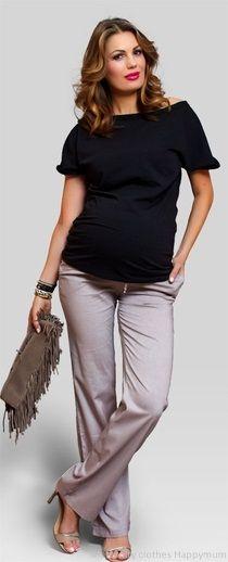 Jazzy airy maternity pants