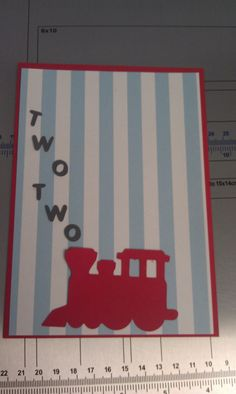 @Jackie Witte - Saw this yesterday and after the train party ideas you've pinned, I had to go find it again because it was so cute.  Train Birthday Invitation by JJsPersonalTouch on Etsy, $2.00