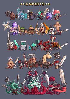 Character Design Animation, Character Art, Cool Pixel Art, Pixel Characters, Game Textures, Pixel Art Games, Art Folder, Arte Horror, Sprites