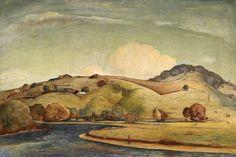 Lloyd Rees Midsummer Pastoral 1945