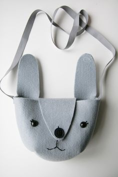 Easy bunny bag and free pattern!