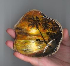.. Seashell Painting, Seashell Art, Pebble Painting, Pebble Art, Stone Painting, Rock Painting Ideas Easy, Rock Painting Designs, Stone Crafts, Rock Crafts