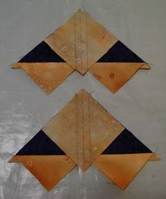 Confessions of a Serial Quilter: Perfect Flying Geese - A Tutorial