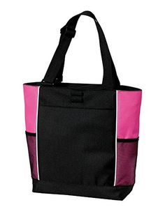 Port Authority luggage-and-bags Port Authority OSFA Black/ Tropical Pink - Brought to you by Avarsha.com