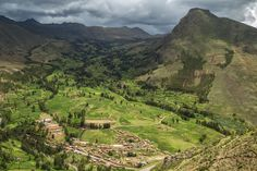 Beautiful Pisac. #pisac #peru #village #landscape