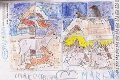 Krmelec a krmítko - 1. třída Vintage World Maps