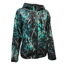 707049a7a512 Details about Moon Shine Attire Muddy Girl SERENITY Camo Full Zip Hooded  Windbreaker 0707100
