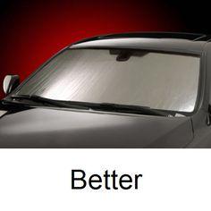 Silver Intro-Tech HD-78 Custom Fit Windshield Sunshade for Select Honda Accord Models