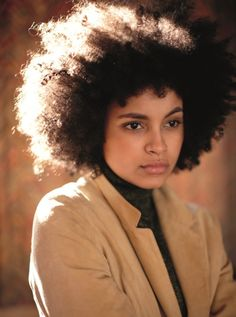 Perfect hair.  Natural hair. Afro hair. Frizzy curls. Kinky curly coily hair.