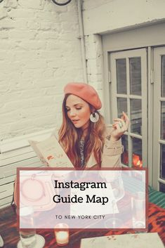 Instagram Guide Map to New York City