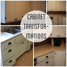 Rustoleum Cabinet transformations--linen unglazed | For the Home ...