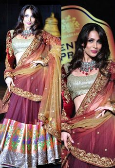 Embroidered Women Replica Lehenga Choli #Hand_Picked #Genuine_Products  #Cash_ON_Delivery  #Buy_Now ₹1079_Only:https://goo.gl/wBbpdD