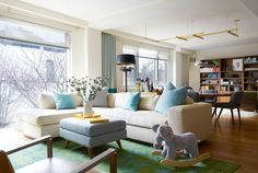 Into the Great Wide Open - Home Tour: A Colorful and Eclectic Apartment in Brooklyn - Photos