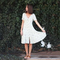 We are in love with all of our new spring Free People arrivals!  Dress $148 Sandals $68