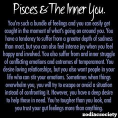 ZODIAC SOCIETY — Pisces and the inner you.