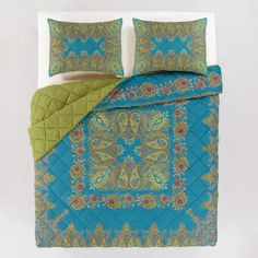 One of my favorite discoveries at WorldMarket.com: Gina Quilt