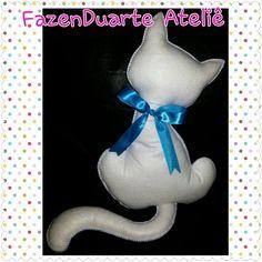 Almofada gato, feltro