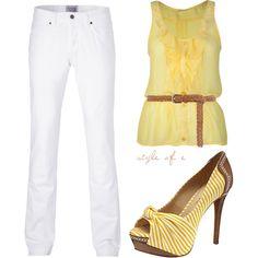 Sunny Yellow, created by styleofe