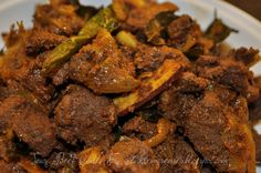 Spicy Beef Chilli Fry.