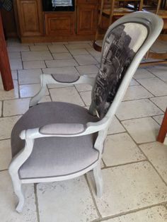 Ce fauteuil est magnifique de tous les côtés !!. et surtout tout à fait UNIQUE ...