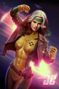Rogue: X-men by Jeffach